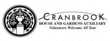 Cranbrook House and Gardens Auxiliary Logo